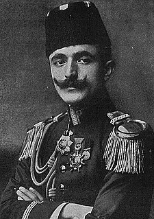 Enver Pasha Ottoman military officer and a leader of the Young Turk revolution