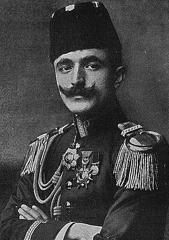 Middle-Eastern theatre of World War I - War Minister Ismail Enver of the Ottoman Empire