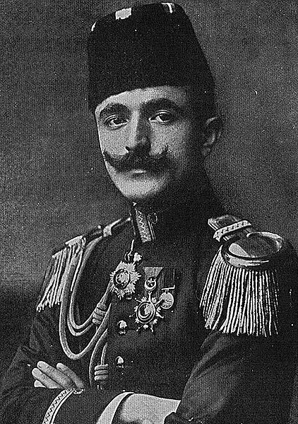 Исмаил Энвер, известный также как Энвер-паша или Энвер-бей (1881—1922)