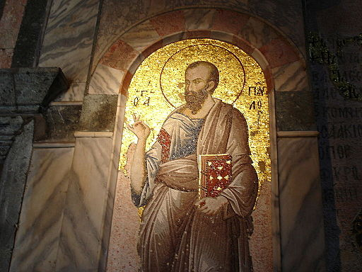 Istanbul - S. Salvatore in Chora - Nartece - San Paolo - Foto G. Dall'Orto 26-5-2006