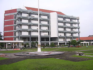 Sepuluh Nopember Institute of Technology - ITS's main library building