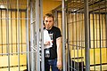 Ivan Golunov at the Nikitinsky Districtional Court (photo by E. Feldman), 2019-06-08 (2).jpg