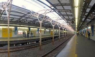 Suidōbashi Station - The JR platforms, 2018