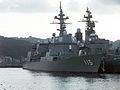 JS Akizuki (DD-115) - starboard Bow View.jpg