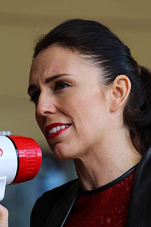 Minister for Arts, Culture and Heritage - Image: Jacinda Ardern at the University of Auckland 36148499793