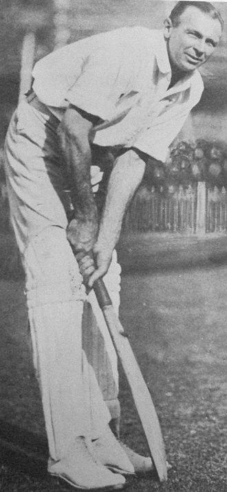 Jack Gregory (cricketer) - Image: Jack gregory batting