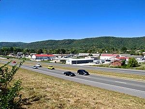 Jacksboro, Tennessee - U.S. Route 25W in Jacksboro