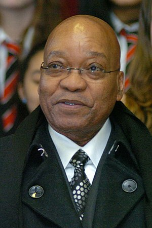 President of South Africa - Image: Jacob Zuma 2010 (cropped)