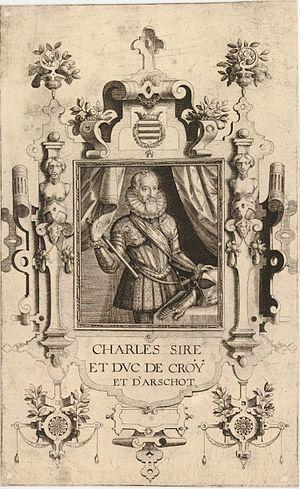Charles III de Croÿ - Portrait of Charles III by Jacob de Bie