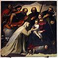 Jacopo ligozzi, matrimonio mistico di santa caterina da siena, 1594.JPG