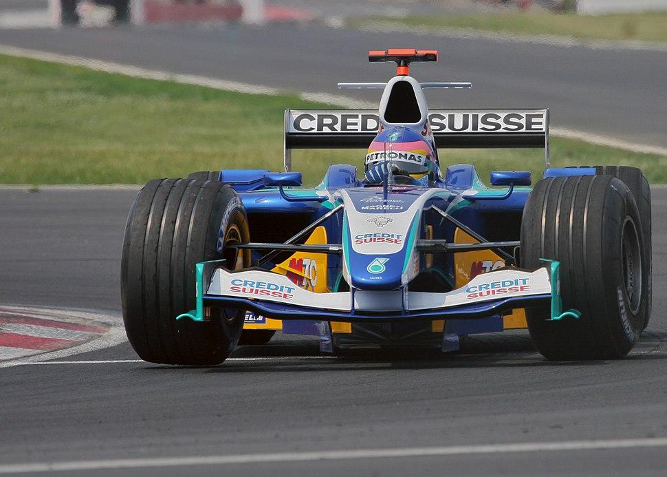 Jacques Villeneuve 2005 Canada 2