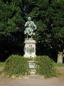 Jakob-Böhme-Denkmal im Park des Friedens in Görlitz (Quelle: Wikimedia)