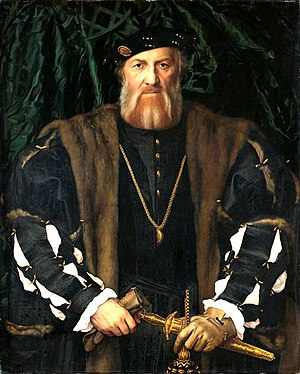 James Butler, 9th Earl of Ormond - Image: James Butler, 9th Earl of Wiltshire & Ormond by Hans Holbein the younger