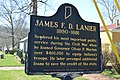 James F.D. Lanier historical marker.jpg