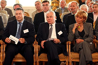 Jan Krzysztof Bielecki - Jan Krzysztof Bielecki in 2007 during the 25th anniversary of establishing NSZZ Solidarity