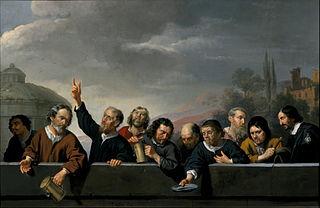 Portretten van de collecterende disgenoten van het Sint Jobsgasthuis te Utrecht