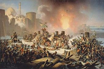 Gennaio Suchodolski - Ochakiv siege.jpg