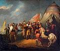 January Suchodolski - Ofiarowanie mieczy pod Grunwaldem 1849.jpg