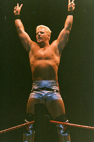 Jeff Jarrett - Jarrett poses in 1999.