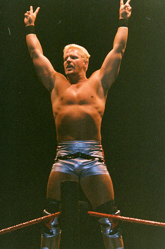 Jeff Jarrett - Jarrett poses in 1999