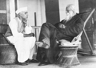 Jawaharlal Nehru - Jawaharlal Nehru and Rabindranath Tagore