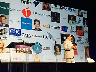Jeff Arnold (Internet entrepreneur) - Sharecare founder Jeff Arnold keynoting at the 2015 American Association of Diabetes Educators Conference in New Orleans.