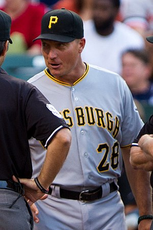 Jeff Banister - Banister with the Pittsburgh Pirates in 2012