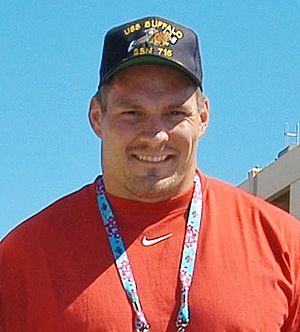 Jeff Hartings - Image: Jeff Hartings on USS Buffalo