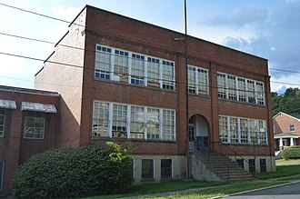 Jefferson School (Clifton Forge, Virginia) - Front of the school
