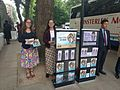 Jehovah's Witnesses outside the British Museum 01.jpg