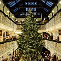 Jenners department store, Edinburgh, Christmas tree in the Great Hall.jpg