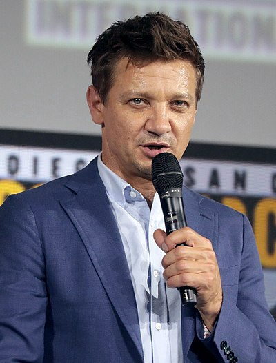 Jeremy Renner, American actor