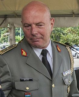 Albanian military officer, 11th Chief of the General Staff of the Albanian Armed Forces