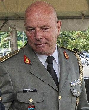 Chief of the Albanian General Staff - Image: Jeronim Bazo NJNJ Graduation Ceremony 29 July 2014 v 2