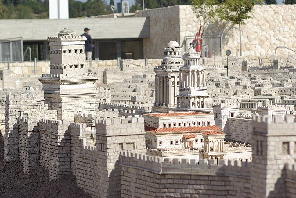 Jerusalem Modell BW 10