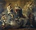 Jesús concede a san Francisco la indulgencia de la Porciúncula.jpg