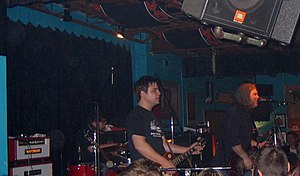 Slobberbone - Jess Barr and Brent Best at Dan's Silverleaf in 2005