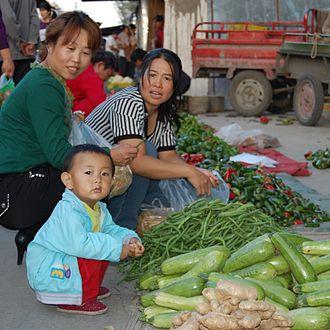 One-child policy - Image: Jiayuguan 066