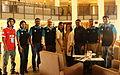 Jimmy Wales with Munir Hasan, Nasir Khan Saikat, Zahid Hossain khan and other GP employees - at BnWiki10 by Nasir Khan Saikat (2).JPG