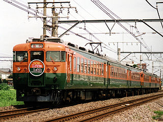 165 series Japanese express electric multiple unit train type