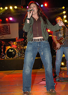 Jo Dee Messina in Naples, Italy in January 2007