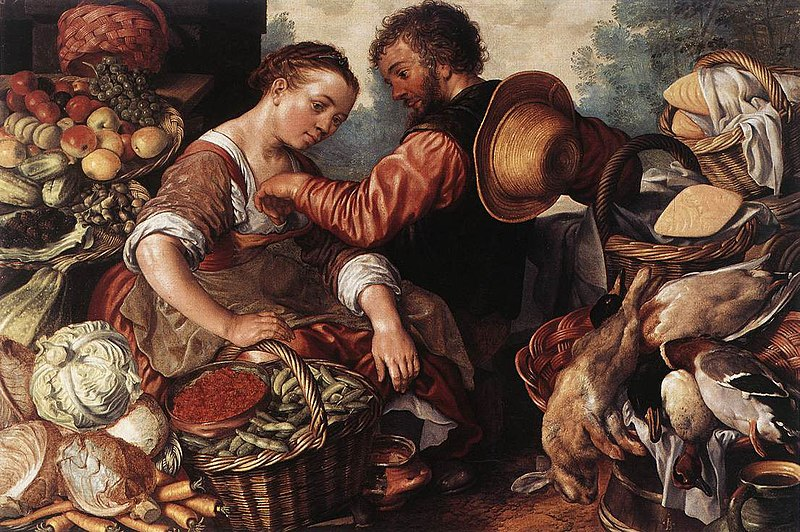 File:Joachim Beuckelaer - Woman Selling Vegetables - WGA02126.jpg