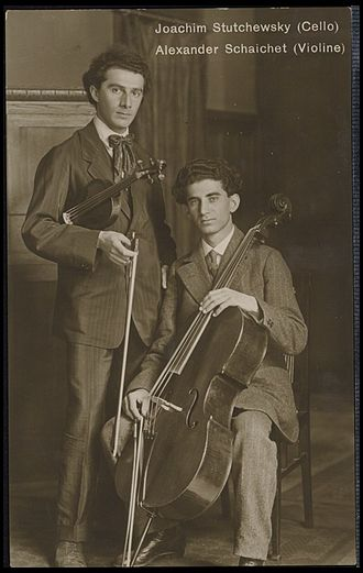Joachim Stutschewsky - Joachim Stutschewsky with Alexander Schaichet