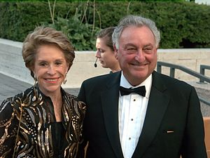 Sanford I. Weill - Joan and Sanford Weill at the opening night of the 2009 Metropolitan Opera's Tosca