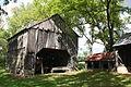 Joel Dreibelbis Farm Wagon Shed-Corn Crib.JPG