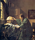 The Astronomer has been considered a pendant to The Geographer JohannesVermeer-TheAstronomer(1668).jpg