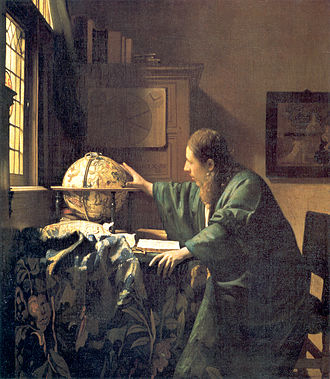 Astronomer - The Astronomer, 1668, by Johannes Vermeer