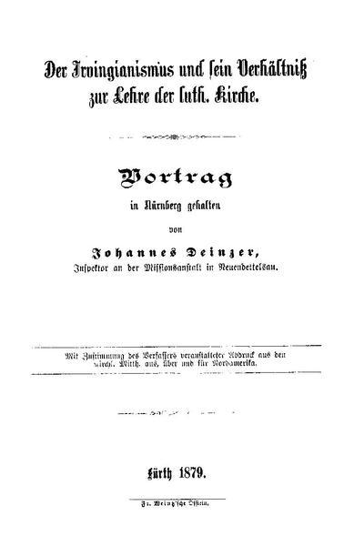 File:Johannes Deinzer - Der Irvingianismus und sein Verhältniß zur Lehre der luth. Kirche.pdf