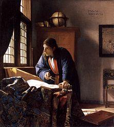 Johannes Vermeer: The Geographer