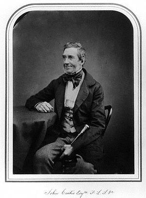 John Curtis (entomologist) - Image: John Curtis
